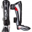 "Venum ""Elite"" Standup Shinguards - Black/Red/Grey"