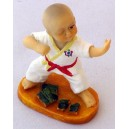 "Figurina mica karate ""C"""